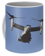 An Mv-22b Osprey Prepares For Landing Coffee Mug