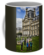 An Oil Painter In A Park In Paris Coffee Mug by Sven Brogren