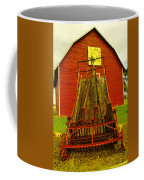 An Old Barn In Kittitas Coffee Mug