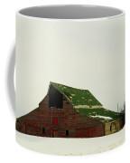 An Old Barn In Northeast Montana Coffee Mug