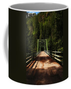 An Old Bridge Crossing The Seleway River  Coffee Mug