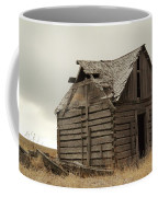 An Old Cabin In Eastern Montana Coffee Mug