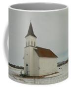 An Old Church In North Dakota Coffee Mug by Jeff Swan