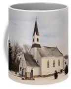 An Old Church In Palermo North Dakota Coffee Mug
