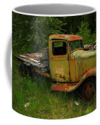 An Old Flatbed Coffee Mug