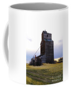 An Old Grain Elevator Off Highway Two In Montana Coffee Mug