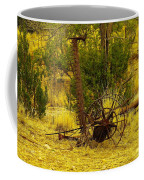 An Old Grass Cutter In Lincoln City New Mexico Coffee Mug by Jeff Swan