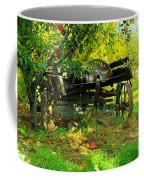 An Old Harvest Wagon Coffee Mug