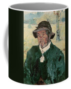 An Old Man, Celeyran, 1882 Oil On Canvas Coffee Mug