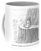 An Old Man Gives Metaphysical Advice Coffee Mug