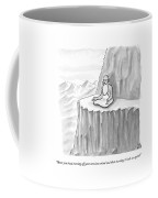 An Old Man Gives Metaphysical Advice Coffee Mug by Paul Noth