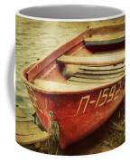 An Old Row Boat Coffee Mug