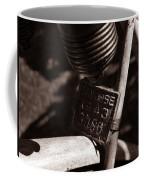 An Old Rusty Bicycle Coffee Mug