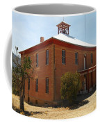 An Old School In White Oaks New Mexico Coffee Mug