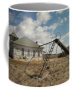 An Old School Near Miles City Montana Coffee Mug by Jeff Swan
