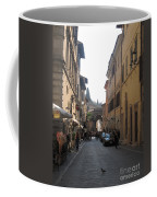 An Old Street In Assisi Italy  Coffee Mug