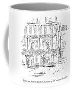 An Older Woman Talks To A Middle Aged Woman Coffee Mug