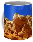 An Orange Boulder Coffee Mug