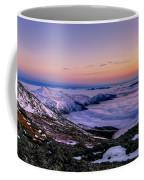 An Undercast Sunset Panorama Coffee Mug