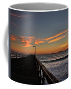 Anacapa Island Pier Coffee Mug