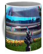 Anaglyph Modern Sculpture Coffee Mug
