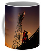 Anaheim Angels Sunset  Coffee Mug