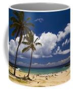 Anakena Beach On Easter Island Coffee Mug