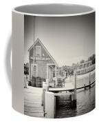 Analog Photography - Martha's Vineyard Black Dog Wharf Coffee Mug