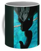 Ancher In Water Santorini Greece Coffee Mug