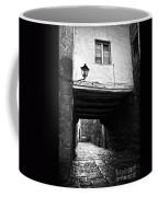 Ancient Alley In Tui Bw Coffee Mug