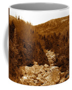 Ancient Brook - Sepia Tones Coffee Mug