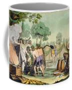 Ancient Celts Or Gauls Sacrificing Coffee Mug