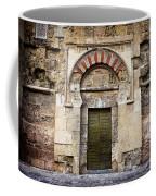 Ancient Door To The Mezquita In Cordoba Coffee Mug