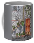 Ancient Grey Stone Residence Coffee Mug