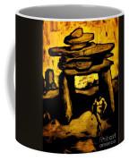 Ancient Grunge Coffee Mug by John Malone