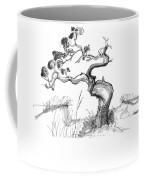Ancient Loblolly Pine Ocracoke Nc 1970s Coffee Mug