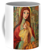 Ancient Mother And Son Coffee Mug