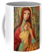 Ancient Mother And Son Coffee Mug