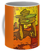 Ancient Sand Painting Coffee Mug