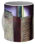 Ancient Torah Scrolls From Yemen  Coffee Mug
