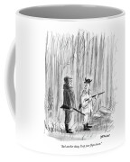 And Another Thing. Keep Your ?aps Down Coffee Mug