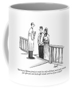 And Do You, Rebecca, Promise To Make Love Only Coffee Mug
