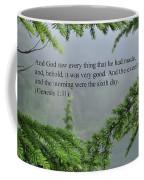 And God Saw Coffee Mug