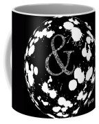 And Sign 2 Splashes Sphere  Coffee Mug