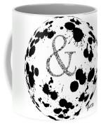 And Sign Splashes Sphere  Coffee Mug