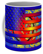 And The Flag Still Stands Coffee Mug by Robert Margetts