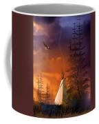 And The Home Of The Brave Coffee Mug