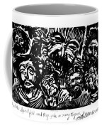 And The Spirit Fell Coffee Mug
