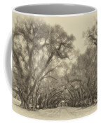 And Time Stood Still Sepia Coffee Mug by Steve Harrington