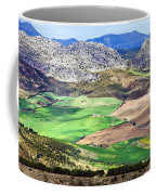 Andalucia Landscape In Spain Coffee Mug